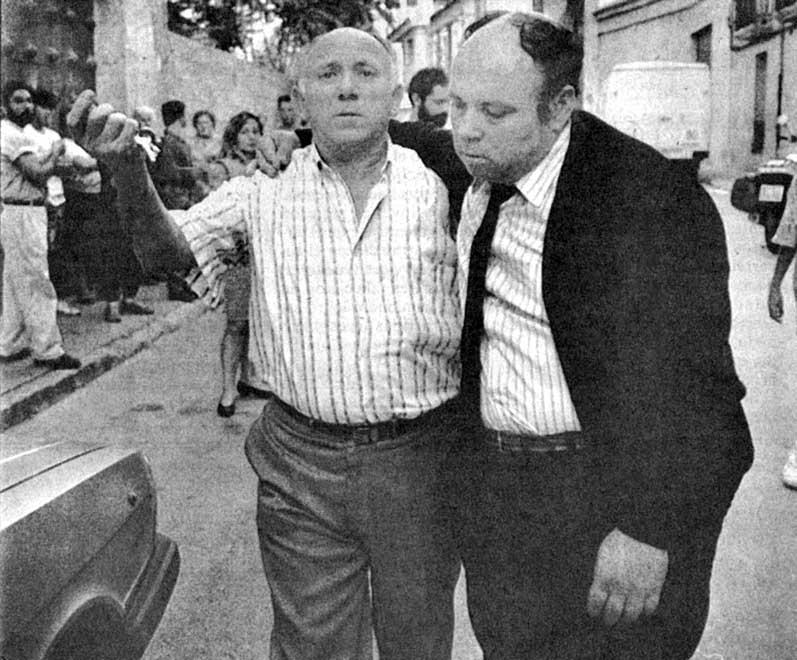 Jesús Fernández (derecha)
