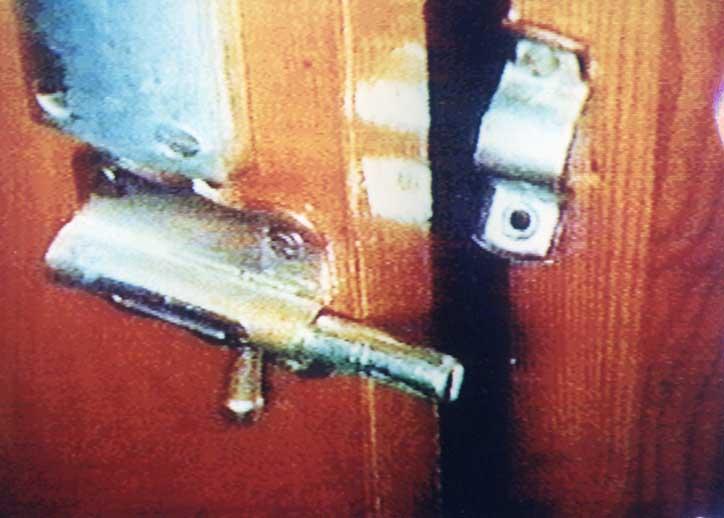 La puerta del cuarto