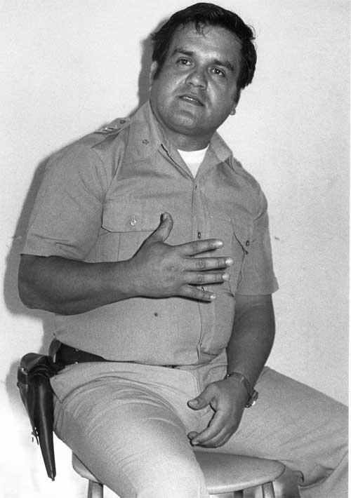 Detective Pastor González