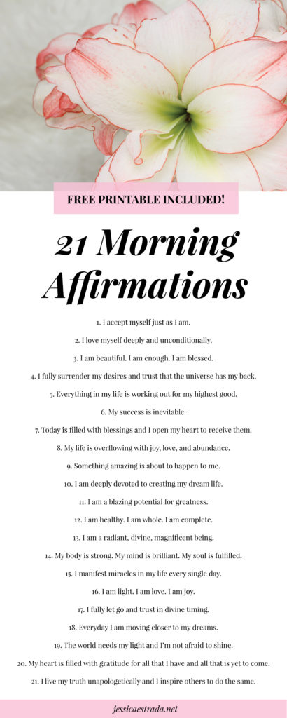 Click through to learn the five things I do as part of my morning ritual to seriously uplevel my life and manifest my biggest desires. #morningroutine #morningritual #morningaffirmations #positiveaffirmations #manifestation #manifestationcoach