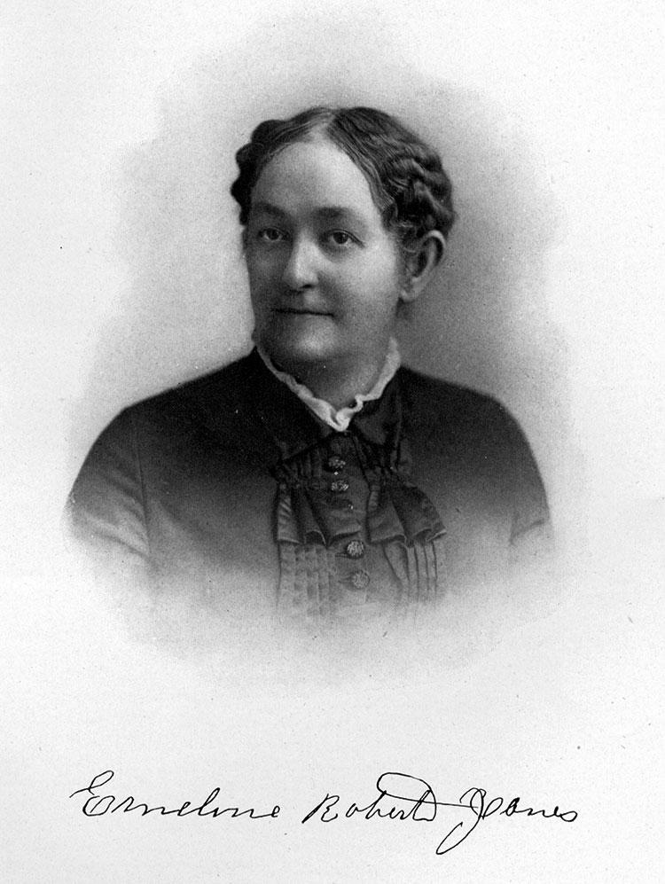 Emeline Roberts Jones. Photo courtesy of The New Haven Museum & Historical Society.