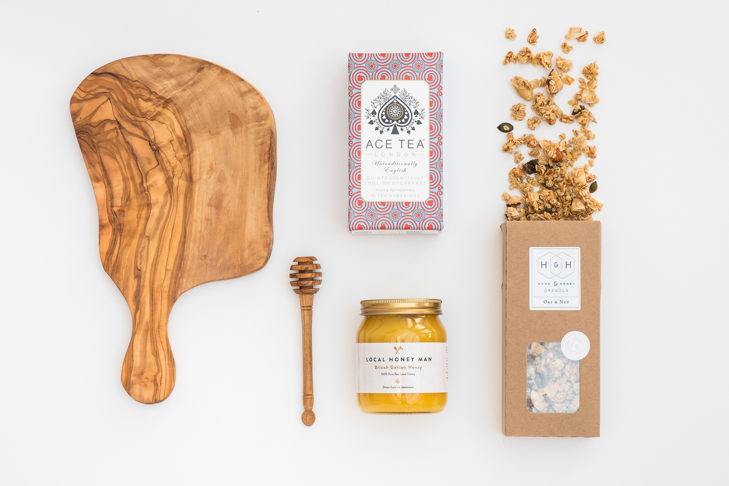 Product photography for The Gift Maker