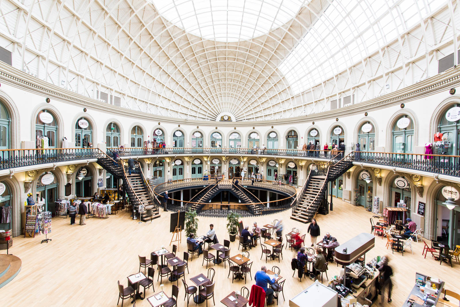 Interiors photography for The Corn Exchange, Leeds