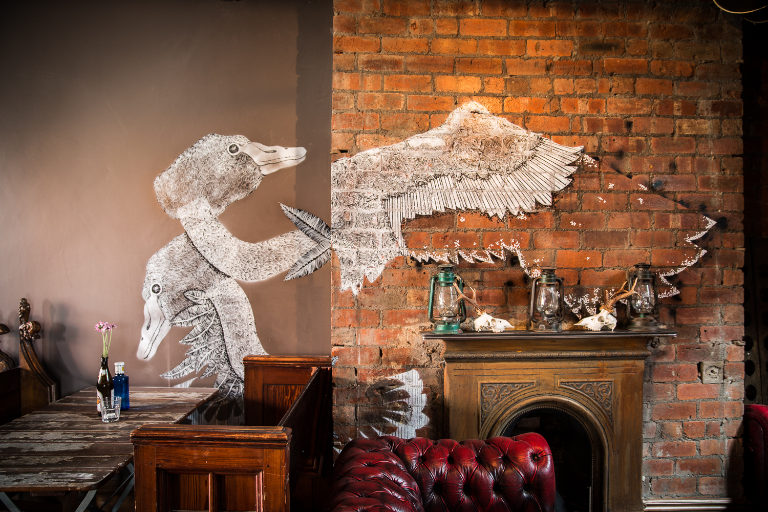 Interior photography for The Black Swan, Leeds