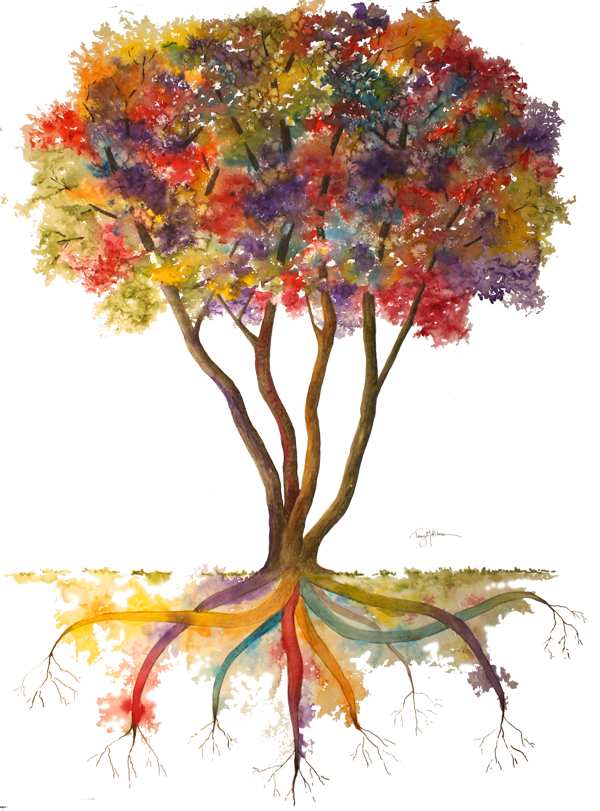 Rainbow Tree w Transparent Background.png