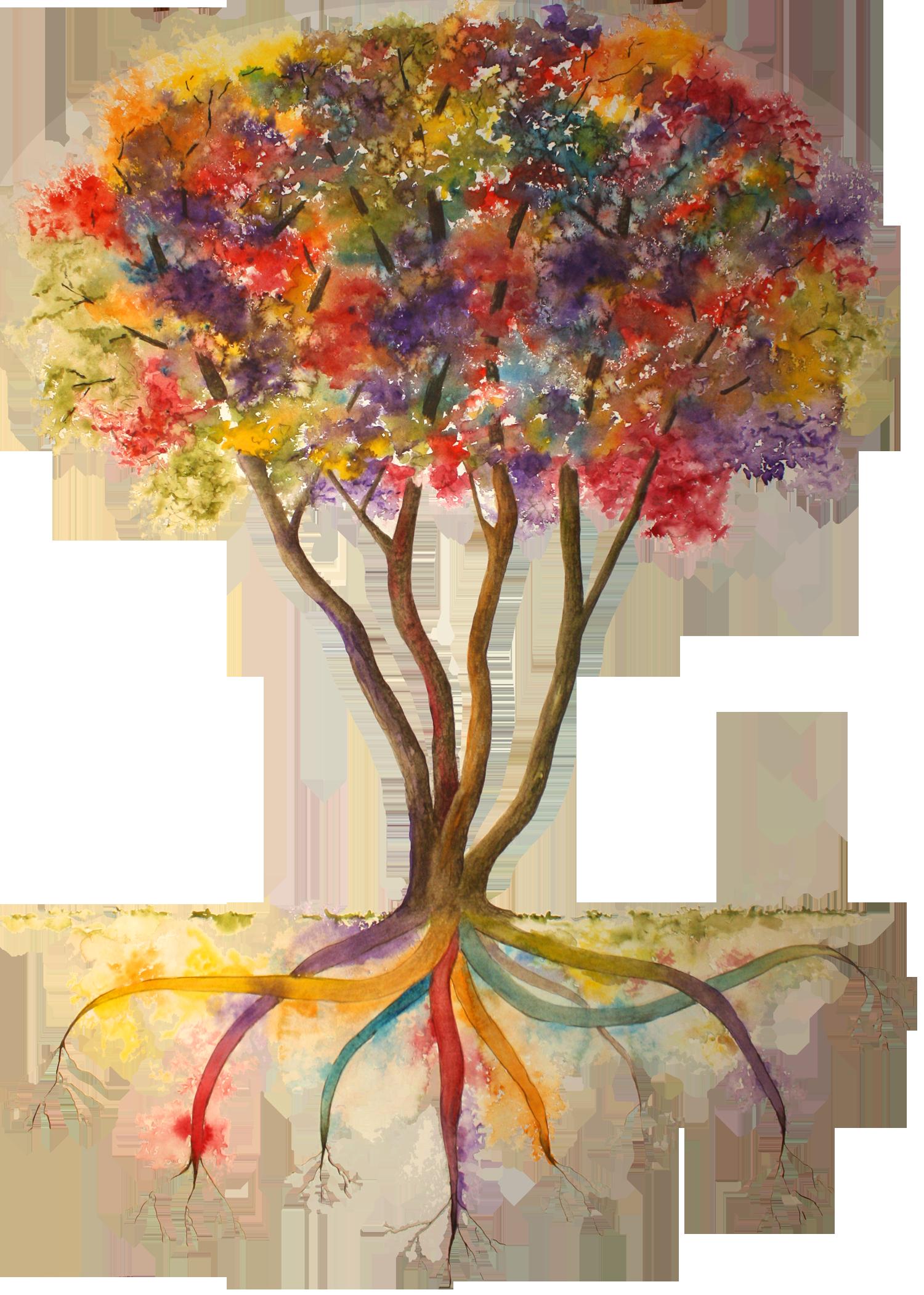 Rainbow Tree w Transpt Backgrnd-5x7.png