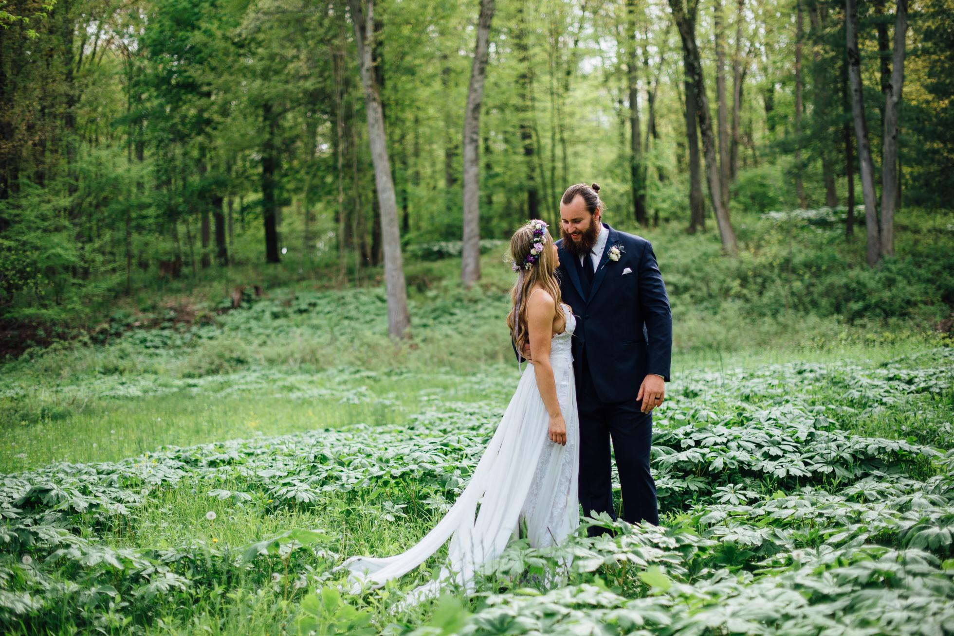 Fernwood Hills London Ontario Bohemian Wedding