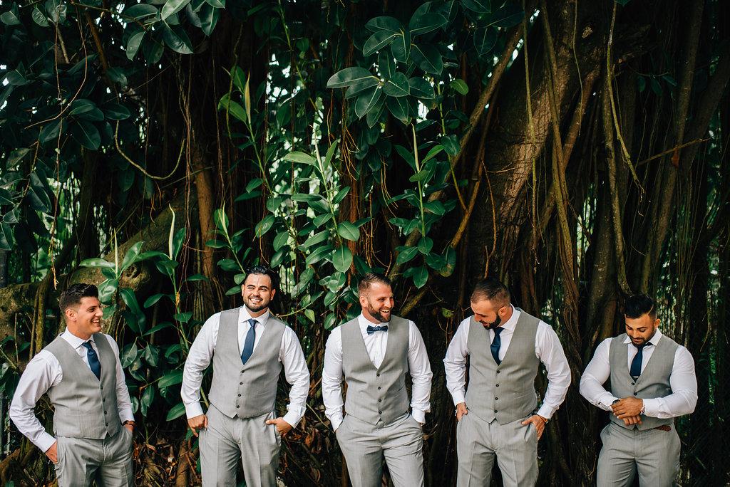 groomsmen at Royalton White Sands in Montego Bay, Jamaica