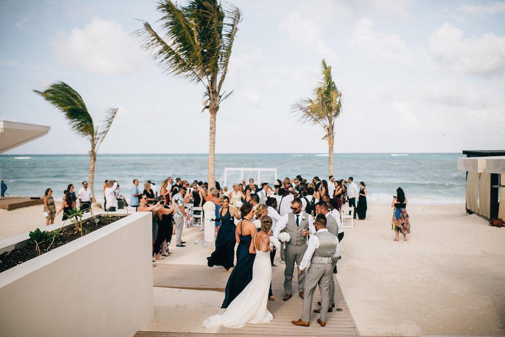 wedding ceremony at Royalton White Sands in Montego Bay, Jamaica