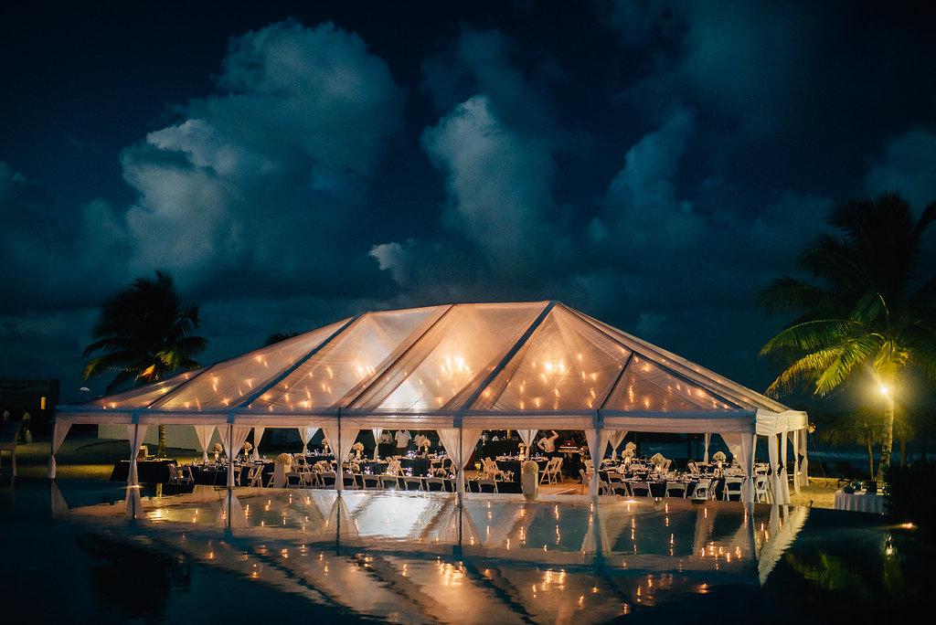 wedding reception at destination wedding at Royalton White Sands in Montego Bay, Jamaica