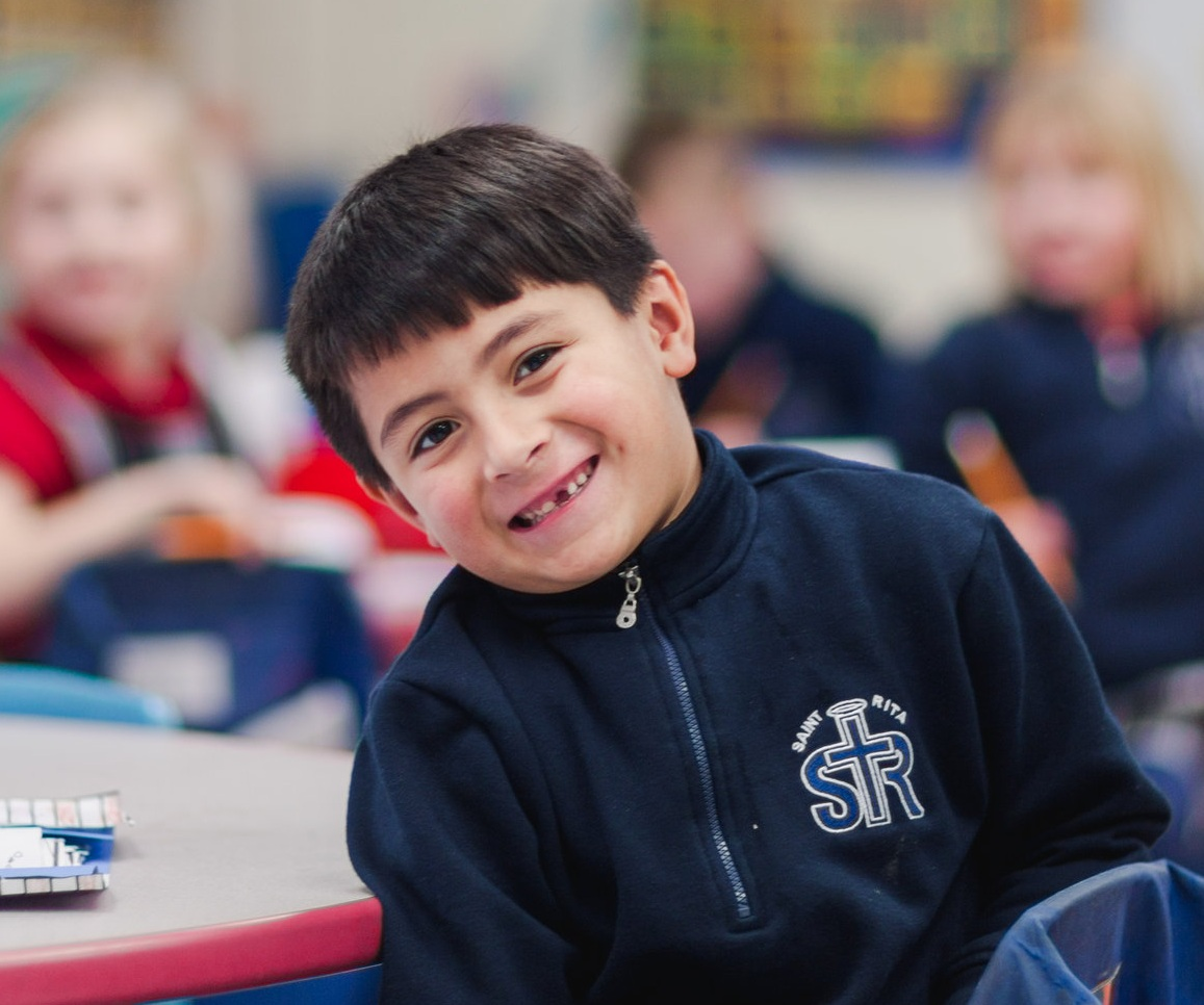 Contact us - Contact the school office to see how your child could benefit from a St. Rita education.