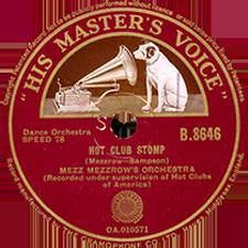 78rpm Jazz Record