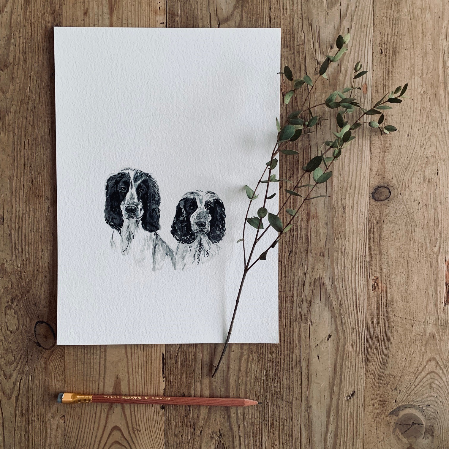 Rosie & Sonny Watercolour Commision.jpg