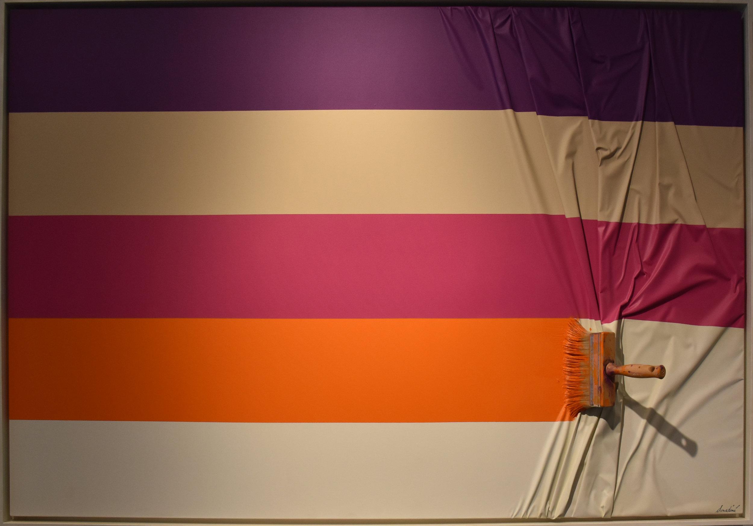 Brosse Arrêtée - 2013Mixed Media101 x 166 cm