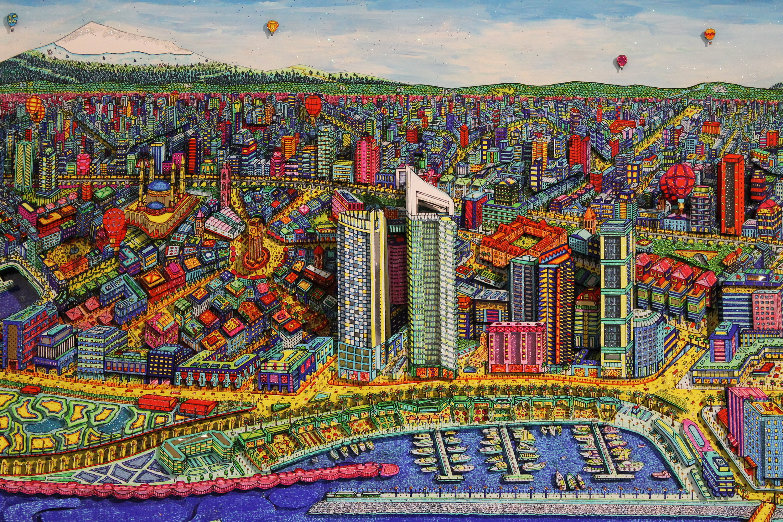 Beyrouth - 2014Mix mediaUnique piece106 x 125 cm