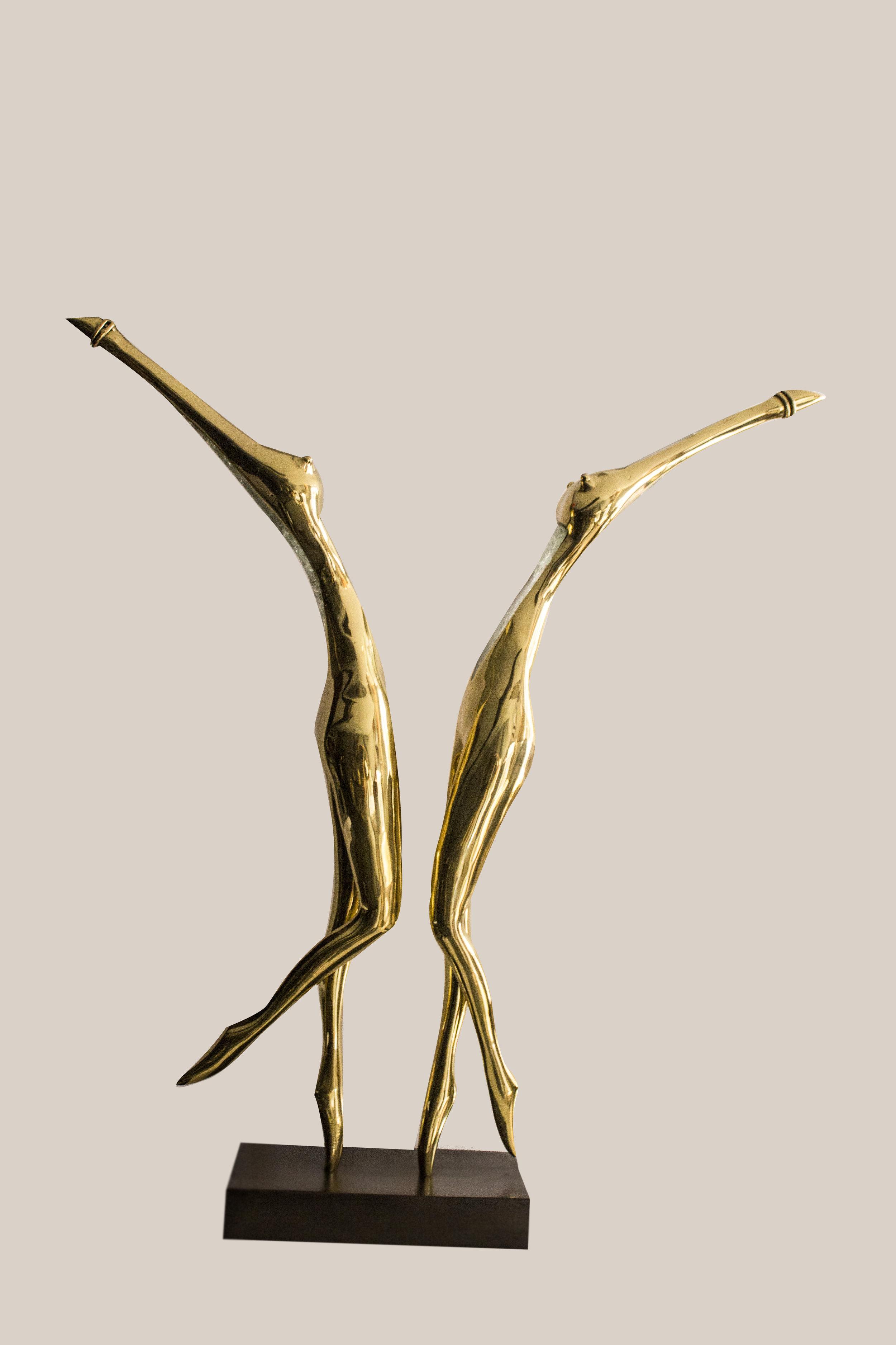 BeBop - 2012Brass and glassH: 70 cm