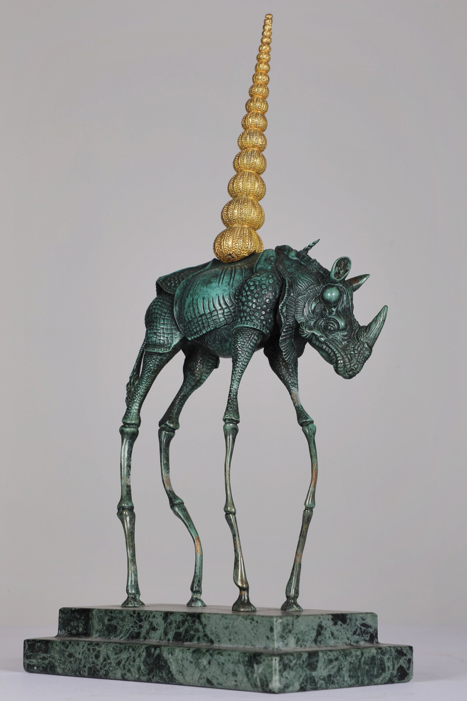 Rhino Cosmique - Bronze282/350H: 36 cm
