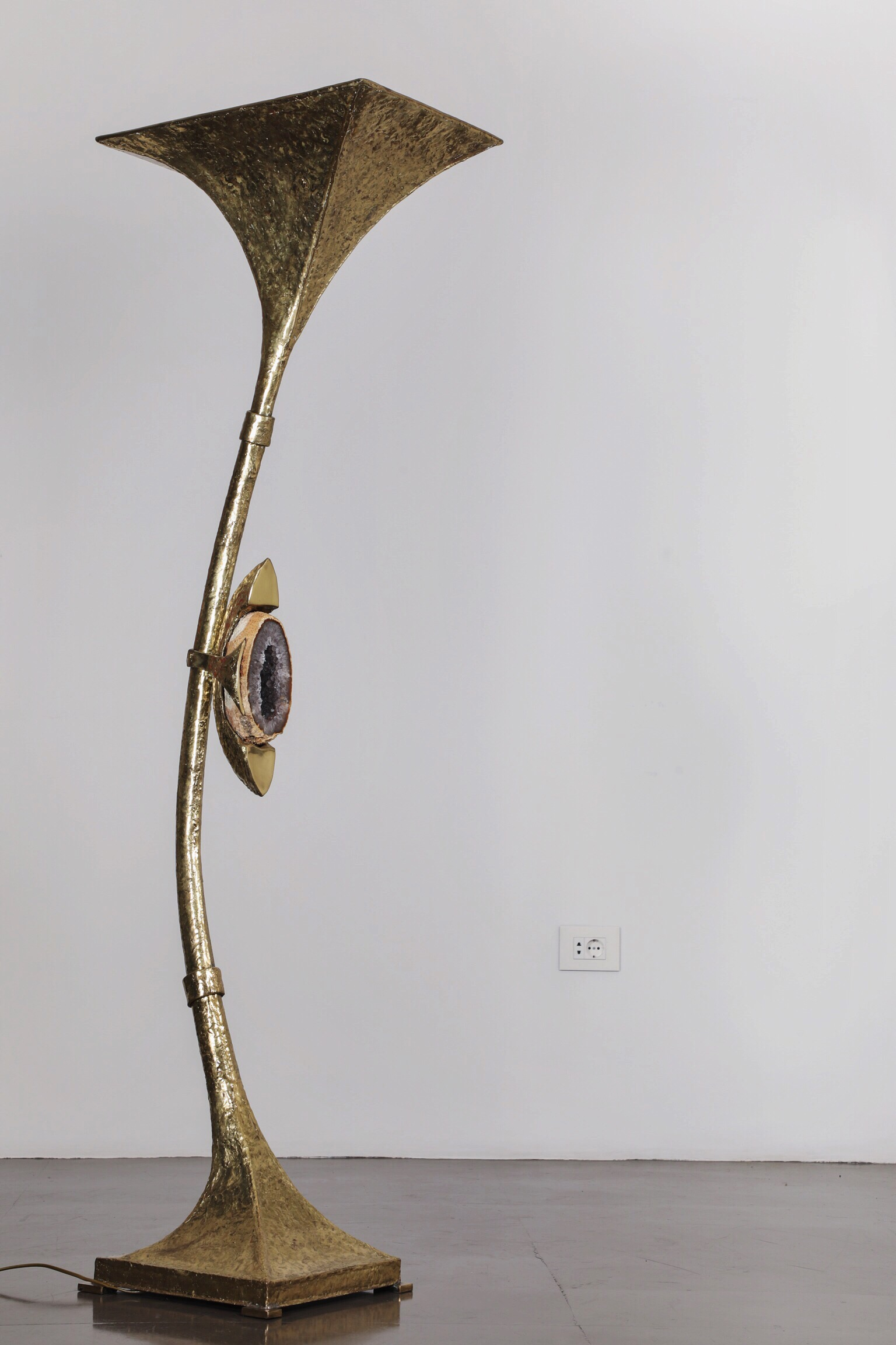 Halogene Geode - 2013Brass and glass180 cm
