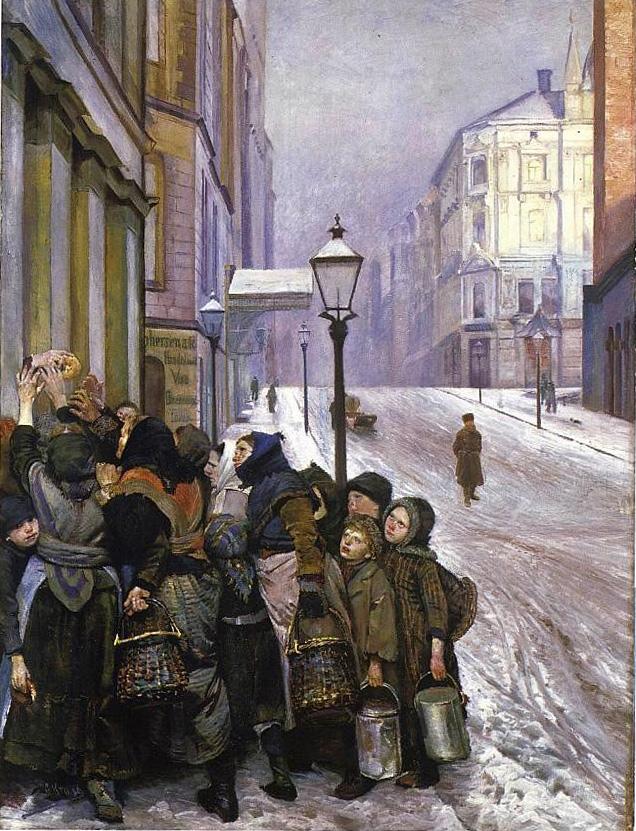 Christian Krohg-Kampen for tilværelsen 1889