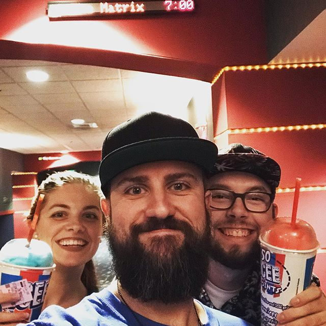 The red icee or the blue icee? Flashback Cinema - The Matrix - my 11th time seeing it in theaters - these two