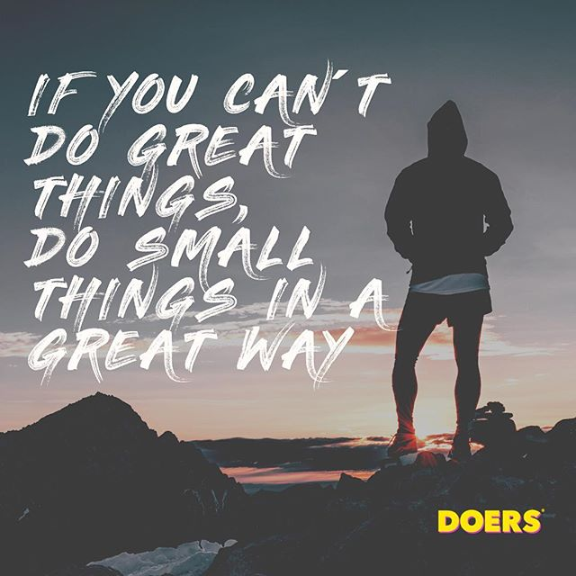 Be a Doer! .  #BeADoer #DOERS #mondaymotivation #mondaymantra #inspiration #quoteoftheday #instagood #words #instagood #MCM