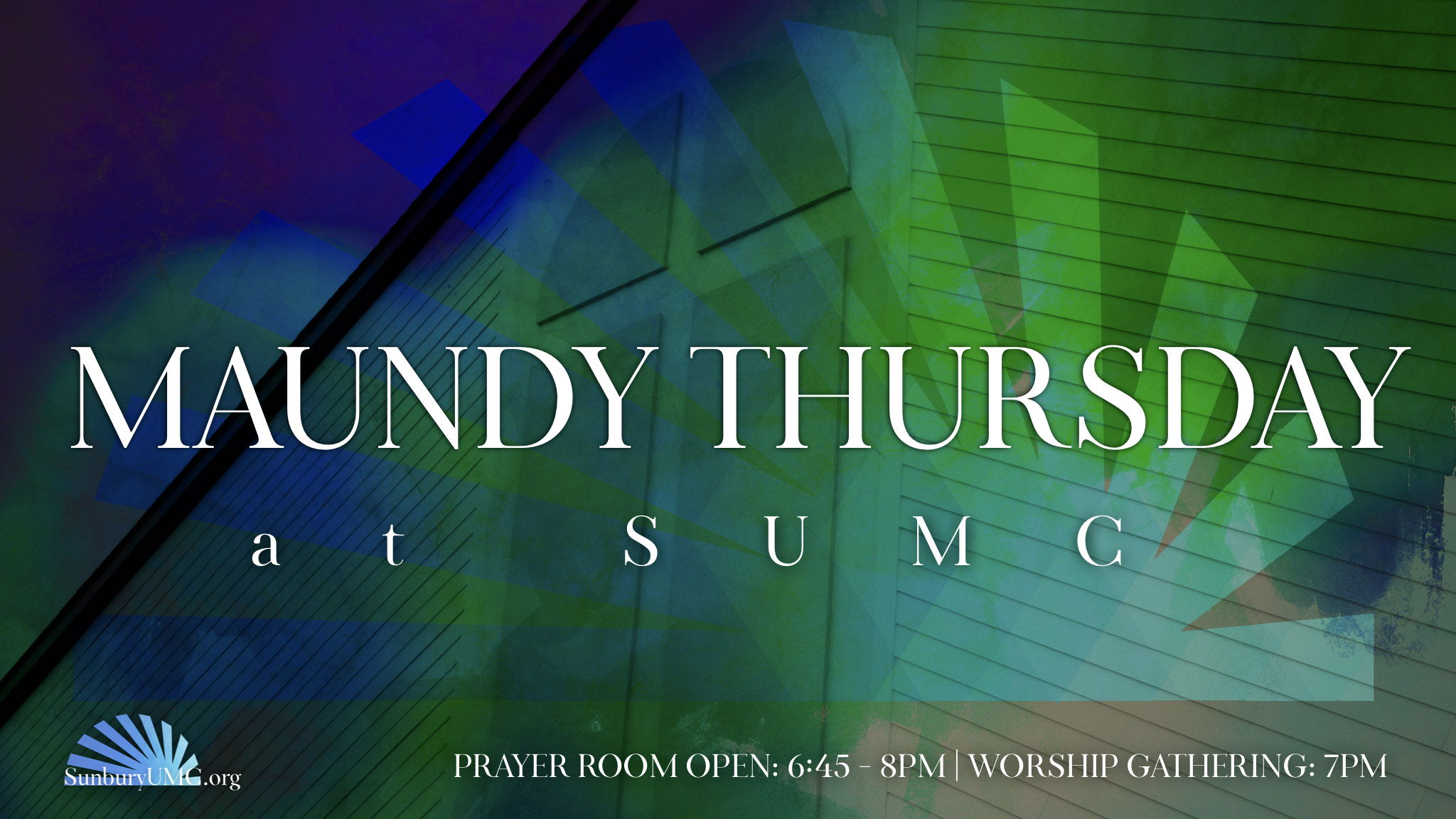 Maundy Thursday @ SUMC — Sunbury United Methodist Church