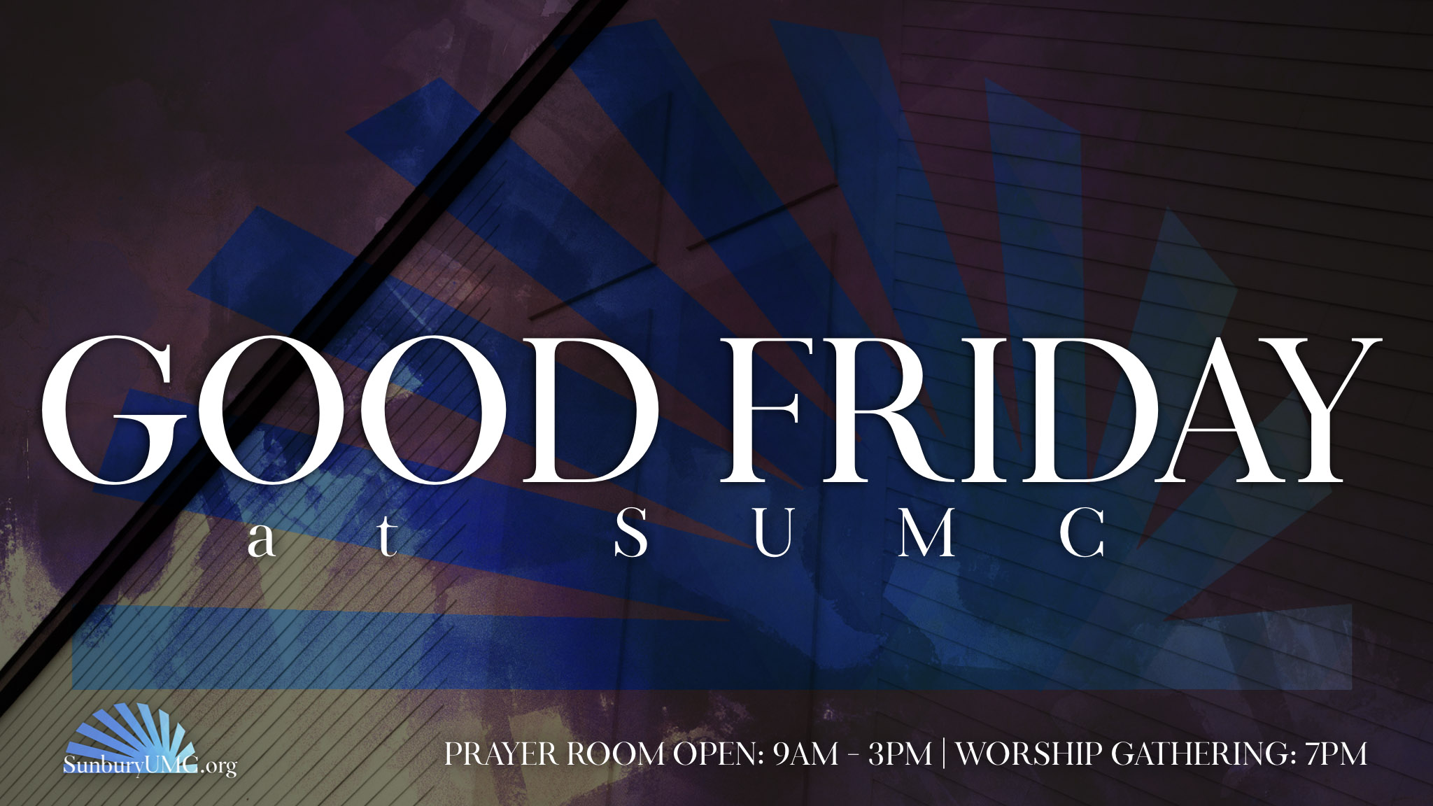 Good Friday @ SUMC — Sunbury United Methodist Church