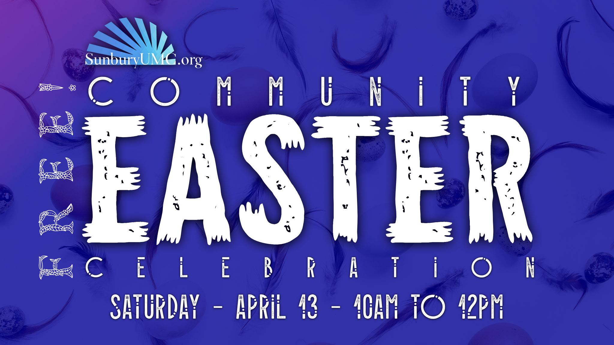 Community Easter Celebration - 2019 - FREE.jpg
