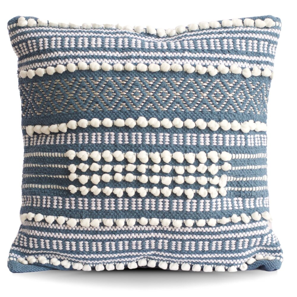 Moroccan Wedding Blue Throw Pillow Tajik Home Handmade Throws Pillows Blankets And Home Decor