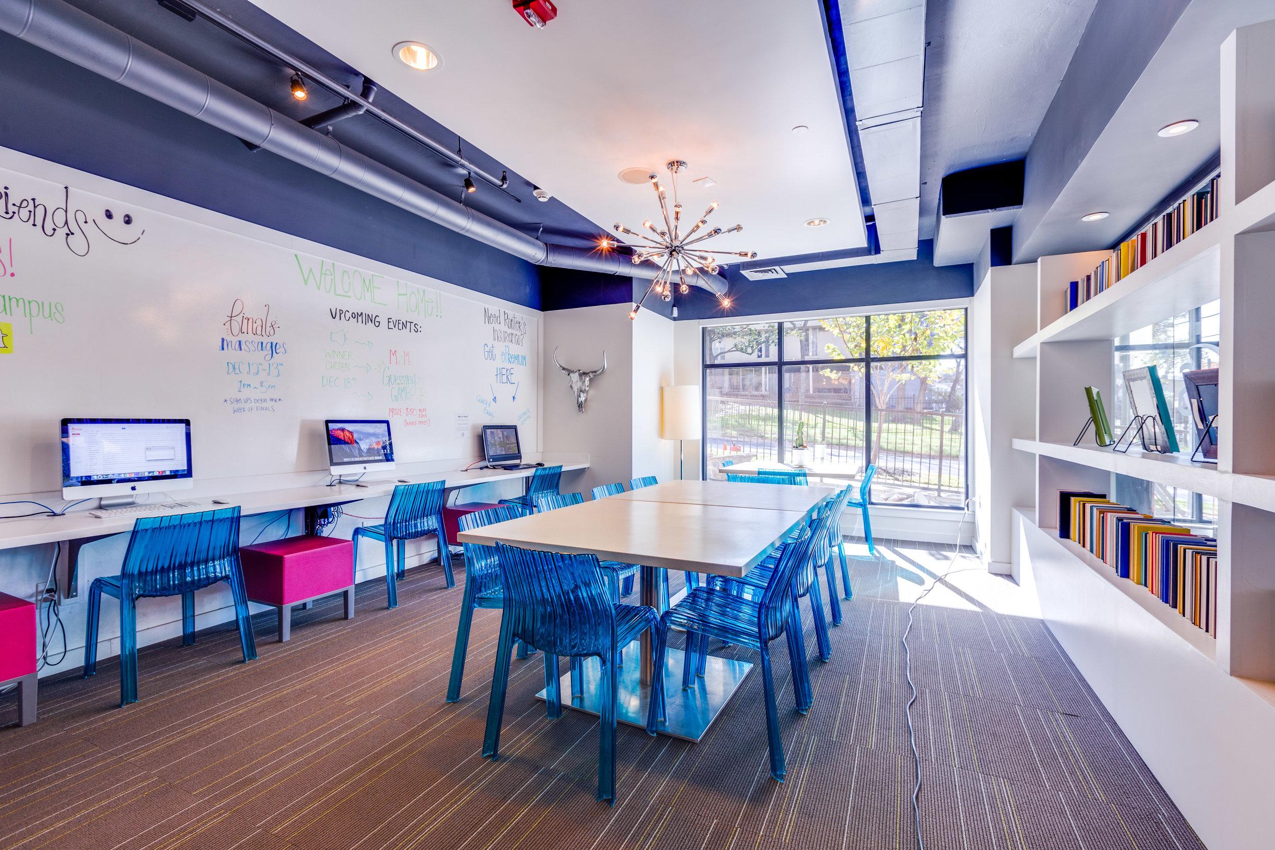 Axis West Campus - Austin, Texas (Multimedia Room)