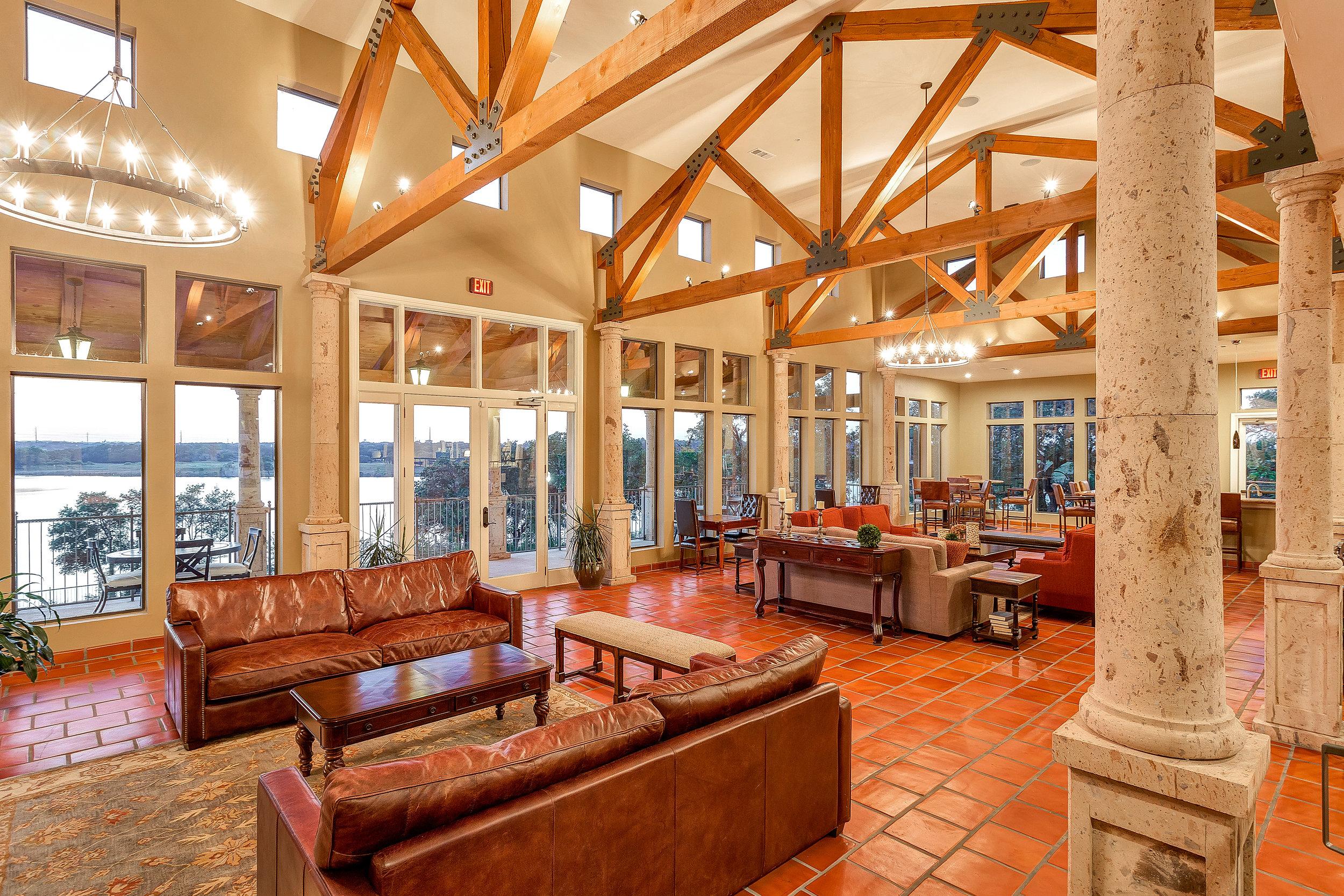 Muir Lake - Cedar Park, Texas (Clubhouse Interior)