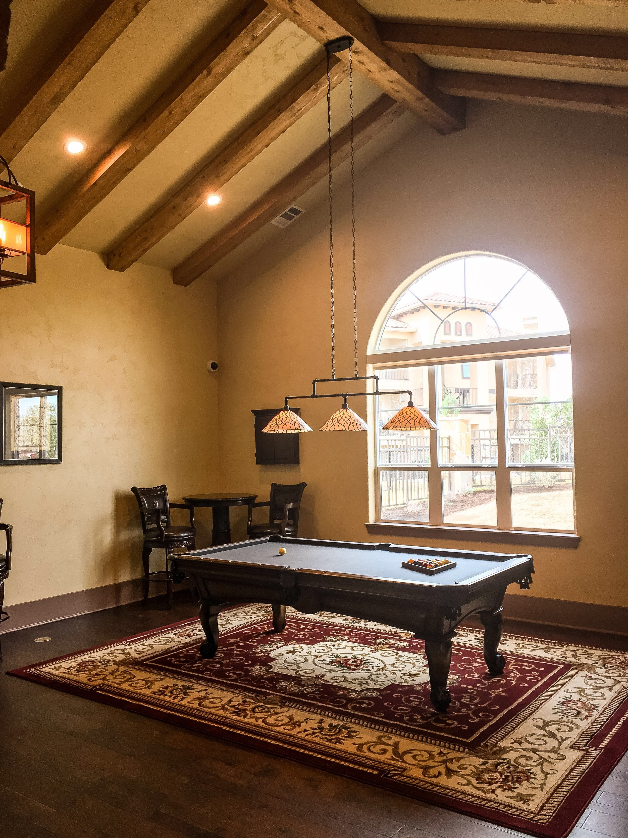 Creekside at Parmer Lane - Austin, Texas (Leasing Office Billiards Room)