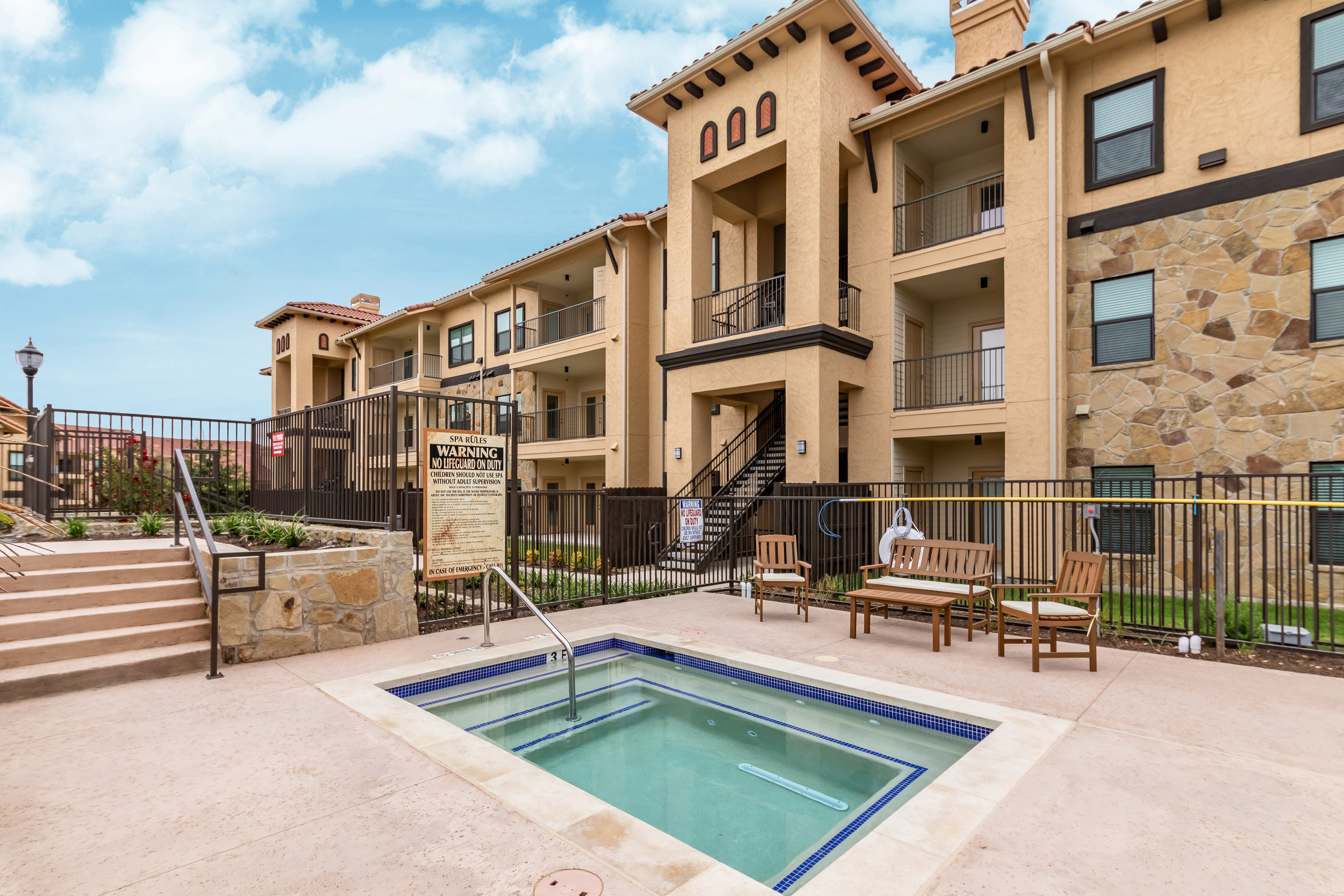 Creekside at Parmer Lane - Austin, Texas (Spa Area)