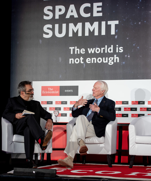Economist magazine's recent Space Summit 2018