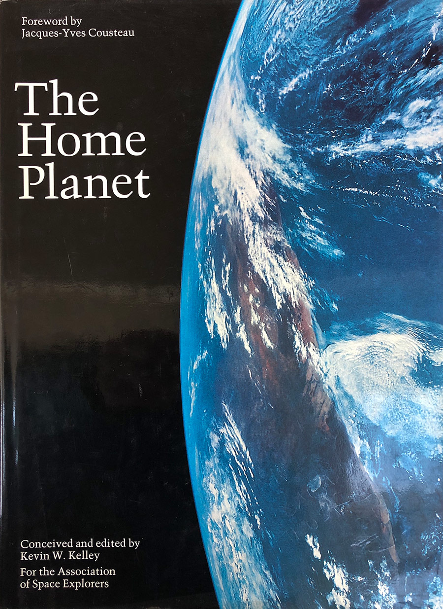 The Home Planet. The cover of the hardcover version of the ASE's first book.