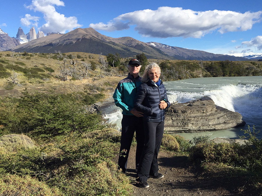 Me & Rams in the Torres del Paine National Park, Chile. Mar 2017