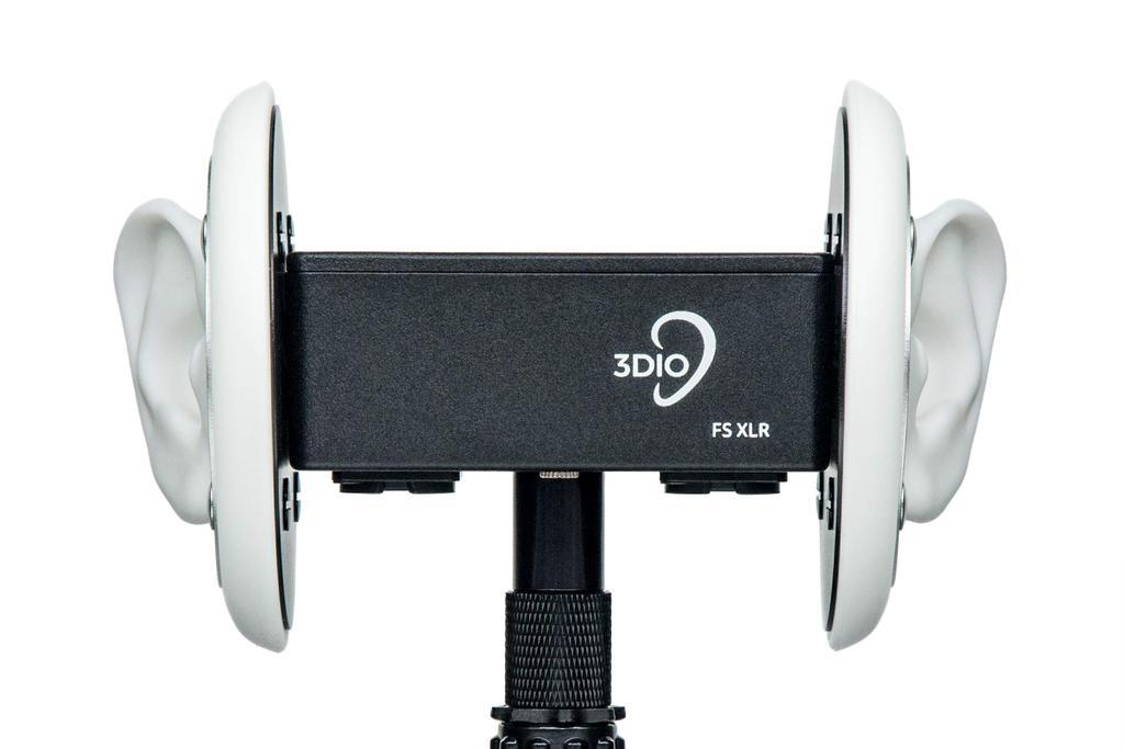 3DIO FS-XLR   Binaural microphone