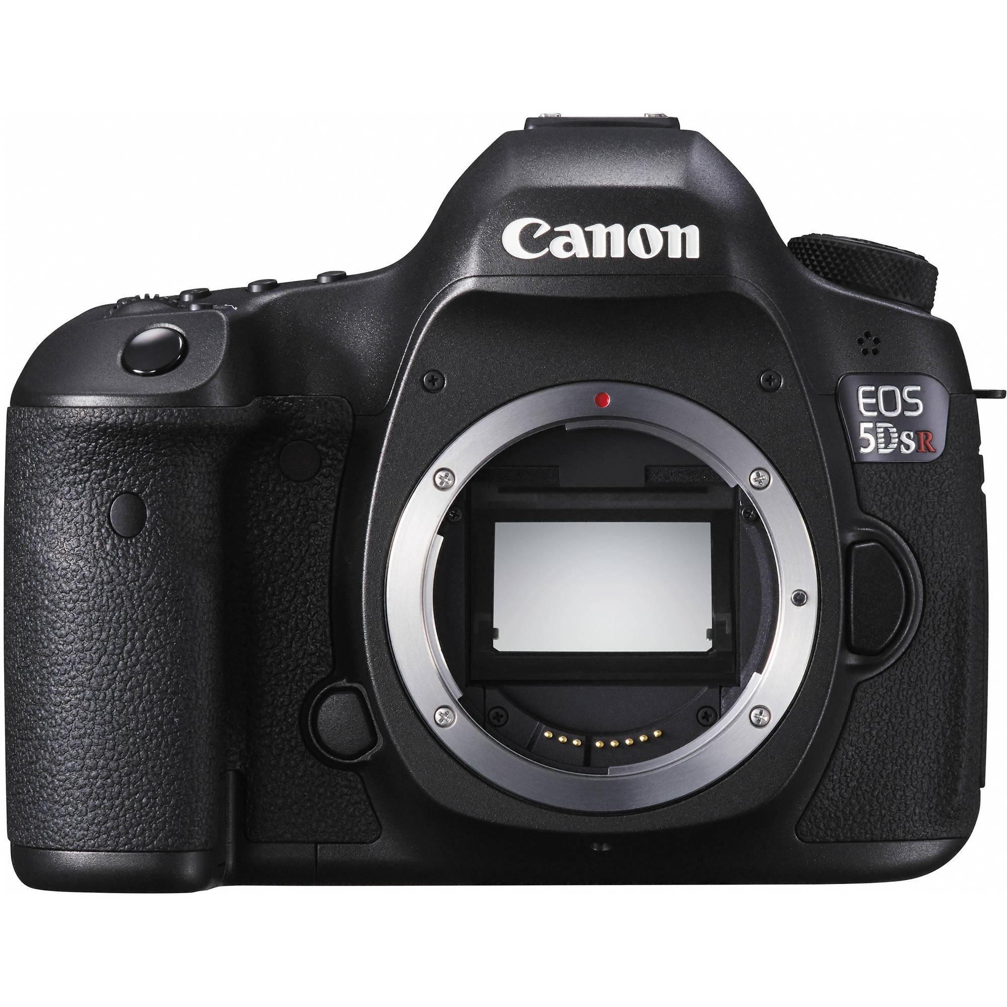 Canon 5DsR   Digital camera body (50.6MP)