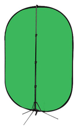 Impact   5'x7' collapsible chroma green screen