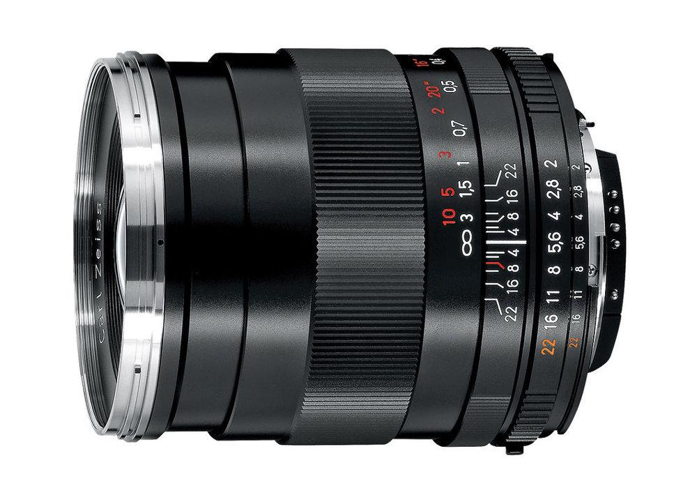 Zeiss Prime Lenses   EF Mount: 21mm f2.8, 28mm f2, 35mm f2, 50mm f2, 85mm f1.4