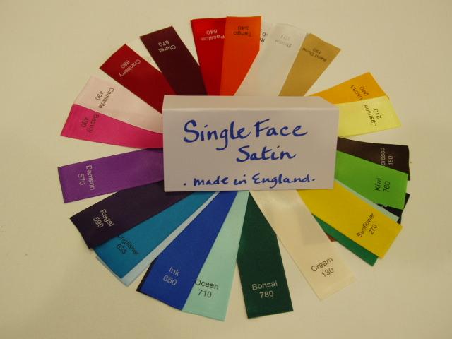 Single  face satin ribbon Charles Clay www.englishribbonsbows.com.JPG