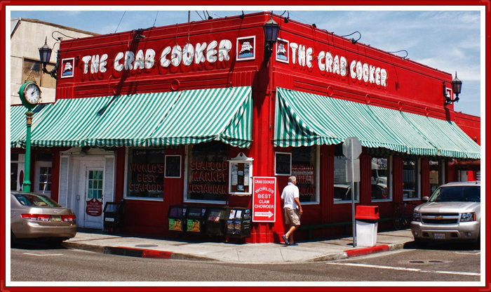 6.The Crab Cooker - Newport beach, CAAh, the Crab Cooker…a Newport beach classic. Thee best seafood in OC. The y have the freshest seafood here and I always make it a point to stop by when I am near. You can dine in but I usually get a crab and shrimp cocktail to go and then hit the beach.
