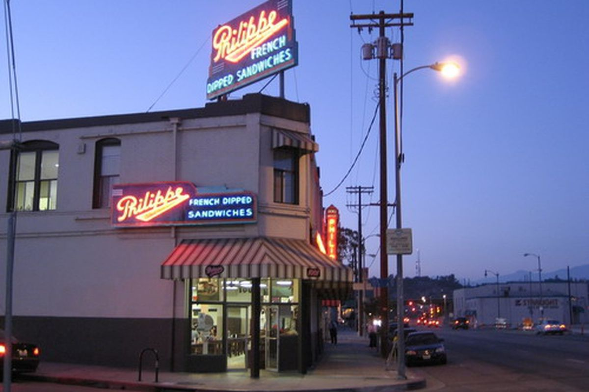 4. Philippe's - Los Angeles, CAI would be doing you a huge dis-service if I did not put this spot on my list! Philippe's has been around for over a hundred years and serves the best french dip sandwiches.