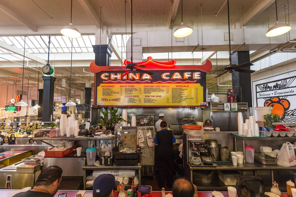 6. Grand Central Market - Los Angeles, CAThe Grand Central Market is exactly what you think is it-a grand market full of food options! The best of the best food right there and you can find almost any type of food their too!