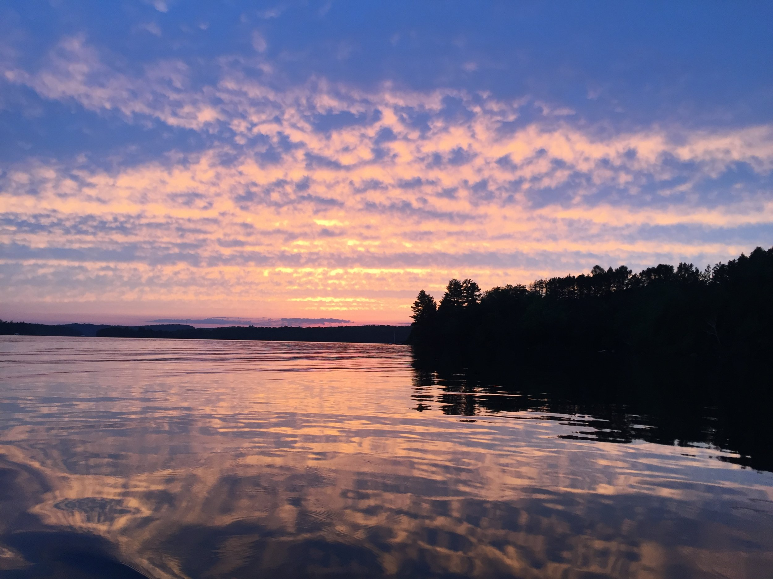 Sunset at Wolf Bay