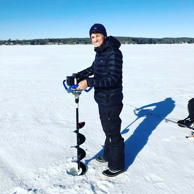 Time for some Pen Lake ice fishing!