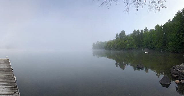 A foggy pen lake morning - credit to Megan Pratt Ballingall