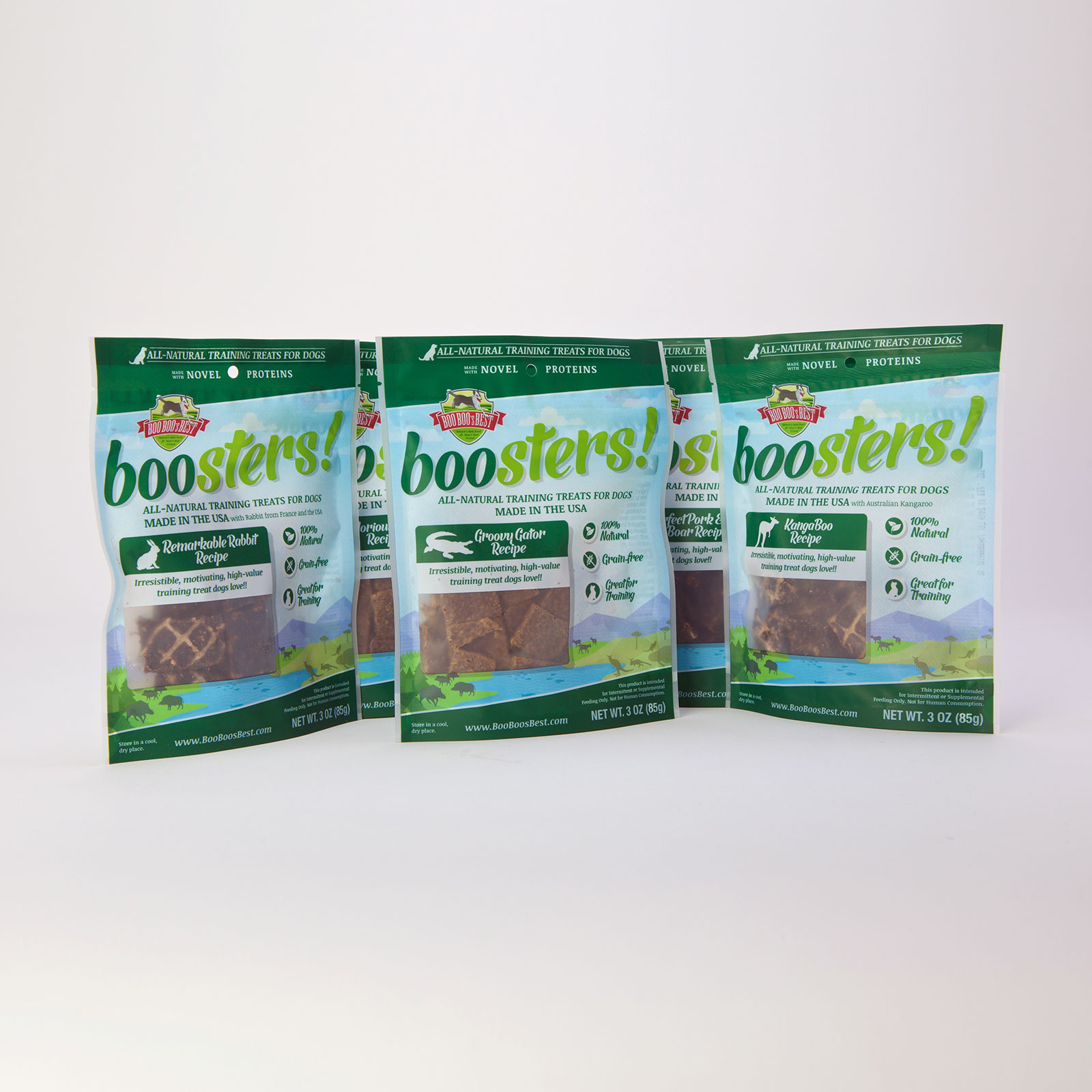 boosters! Exotic Protein Treats