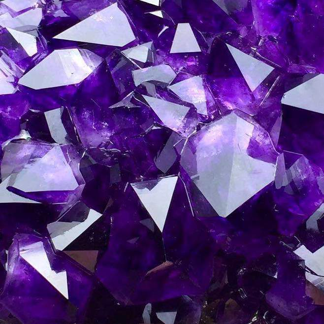Chemical Formula: SiO2 Amethyst is the traditional birthstone of February.