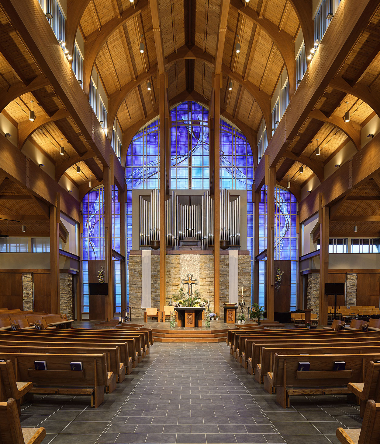 Church interior photographer